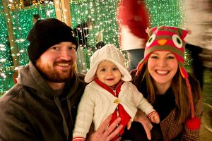Family Fun at Lights of Tejas